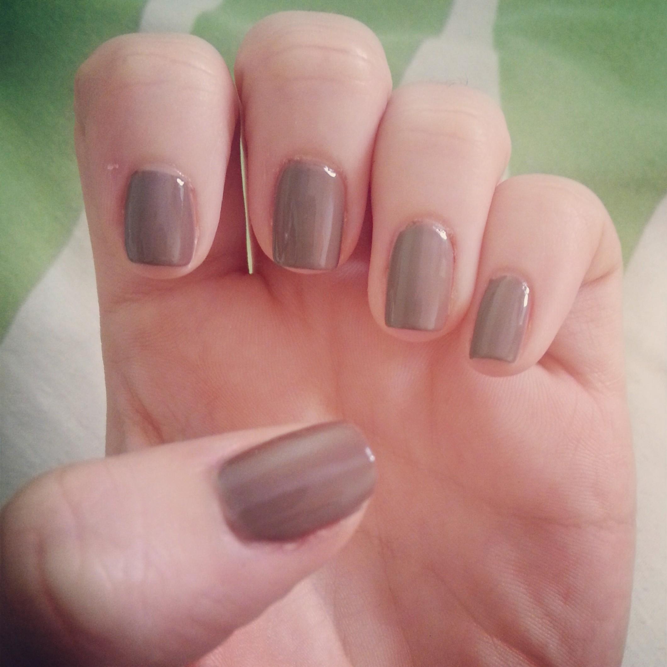 Plain nails…   Sarah Speaks