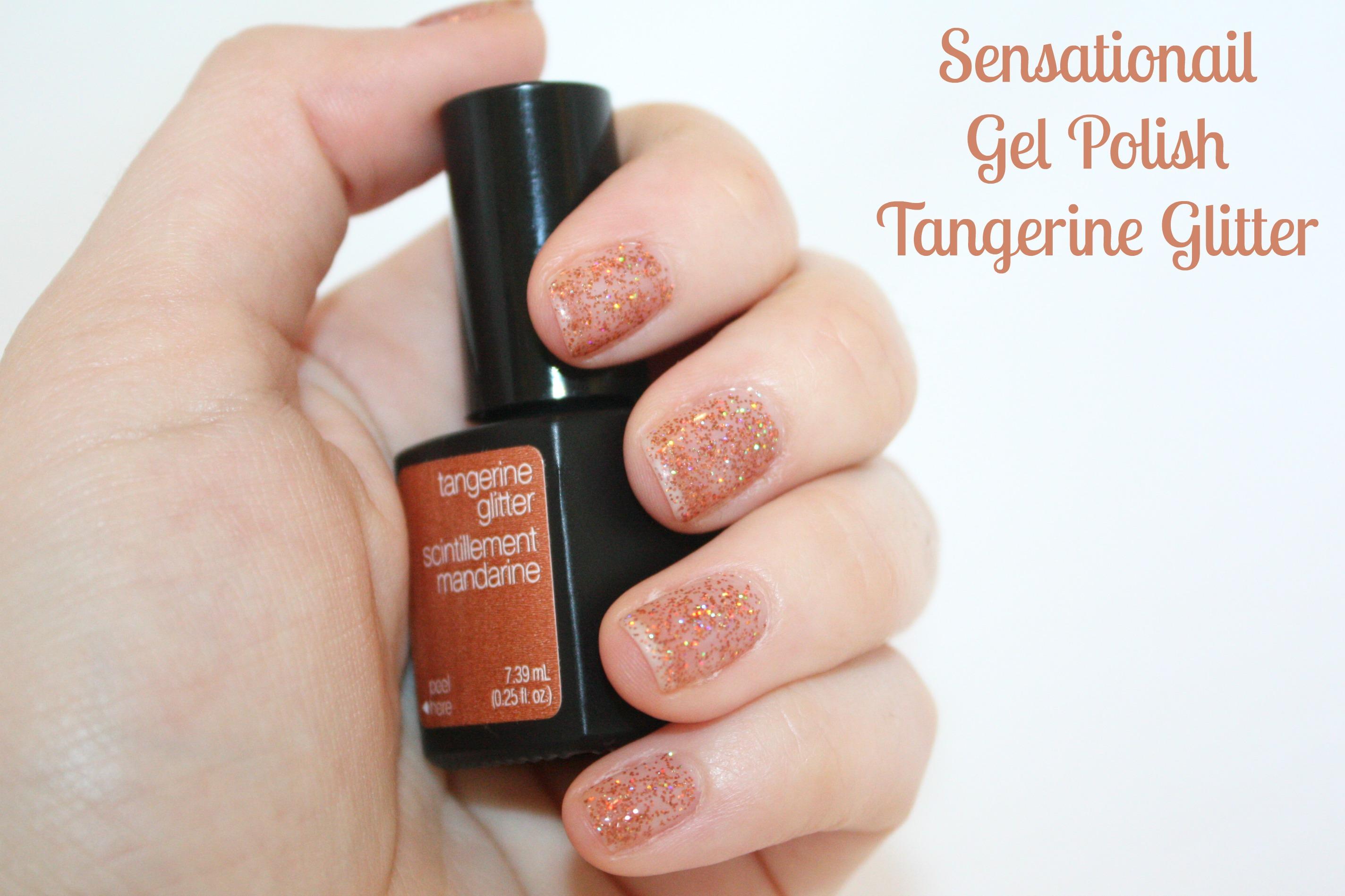 sensationails tangerine glitter� sarah speaks